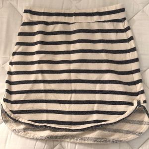 Emma & Sam Terry Stripe Skirt